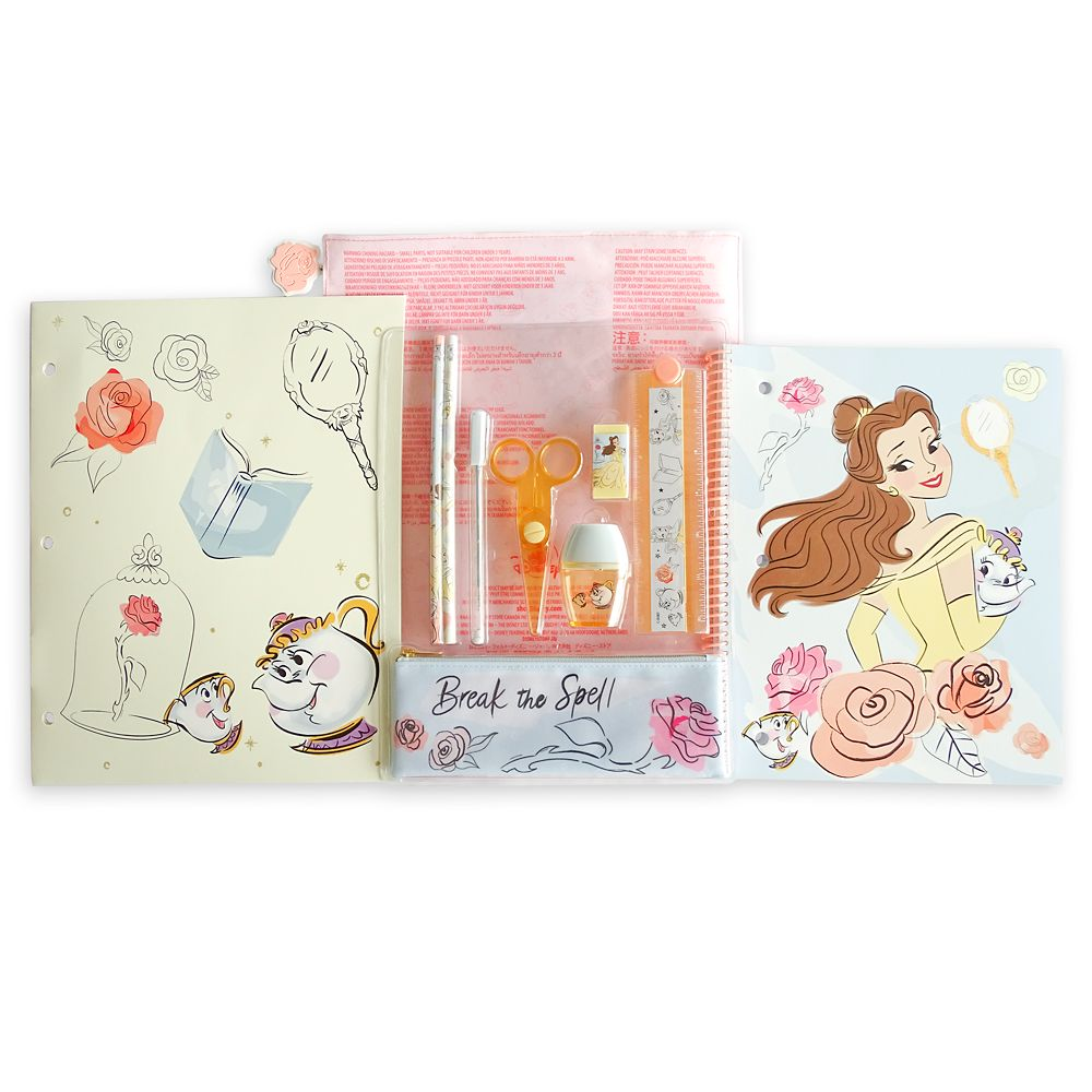 Beauty and the Beast Stationery Kit