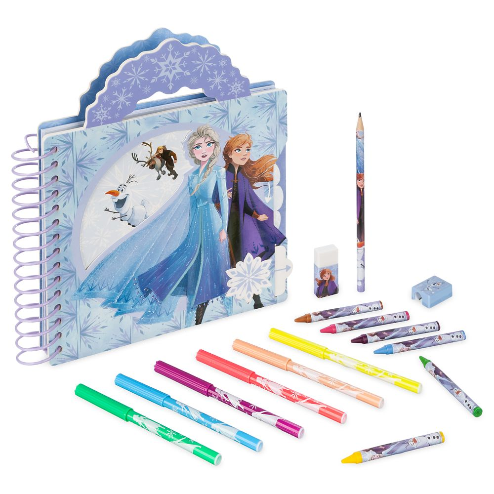 Frozen 2 Activity Book