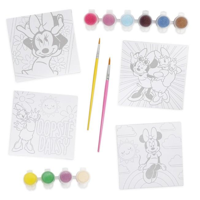 Minnie Mouse Canvas Paint Set