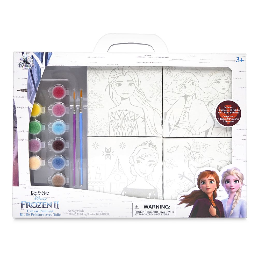 Frozen 2 Canvas Paint Set