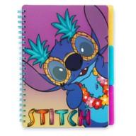 Stitch Spiral Bound Sectioned Notebook – Lilo & Stitch