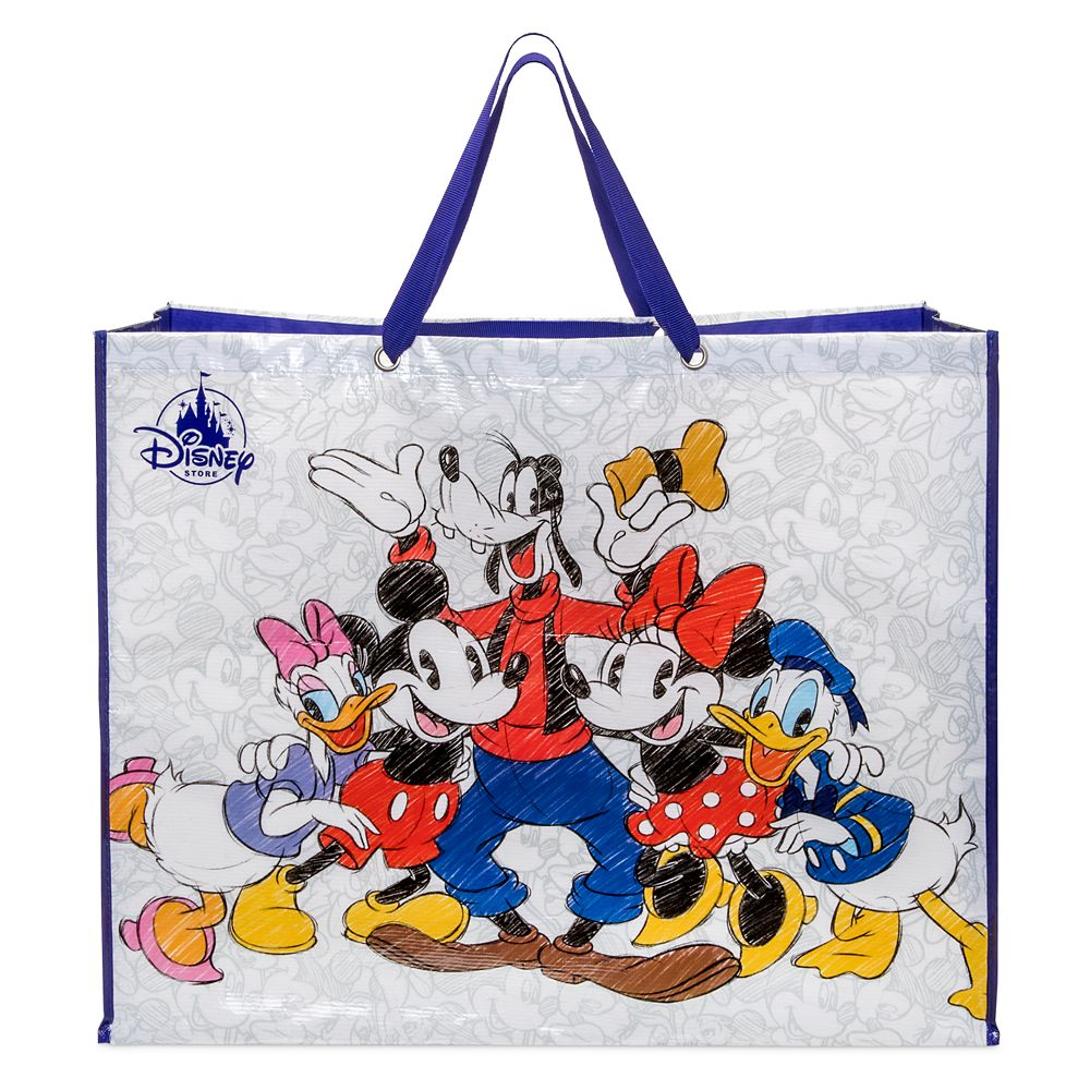 Mickey Mouse and Friends Reusable Tote