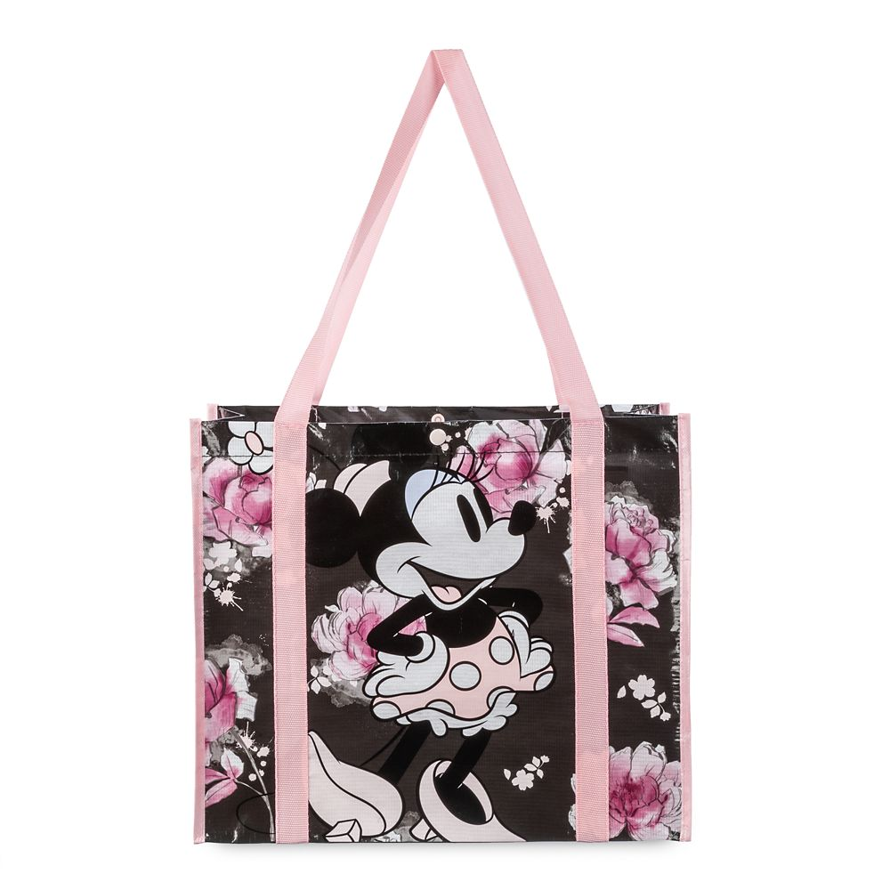 Minnie Mouse Floral Reusable Tote