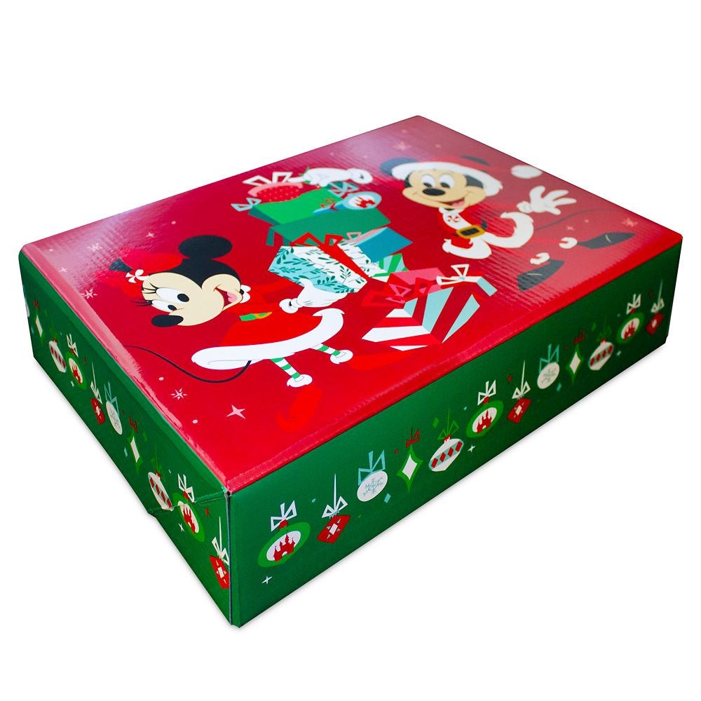 Mickey and Minnie Mouse Holiday Gift Box – Small Apparel Size