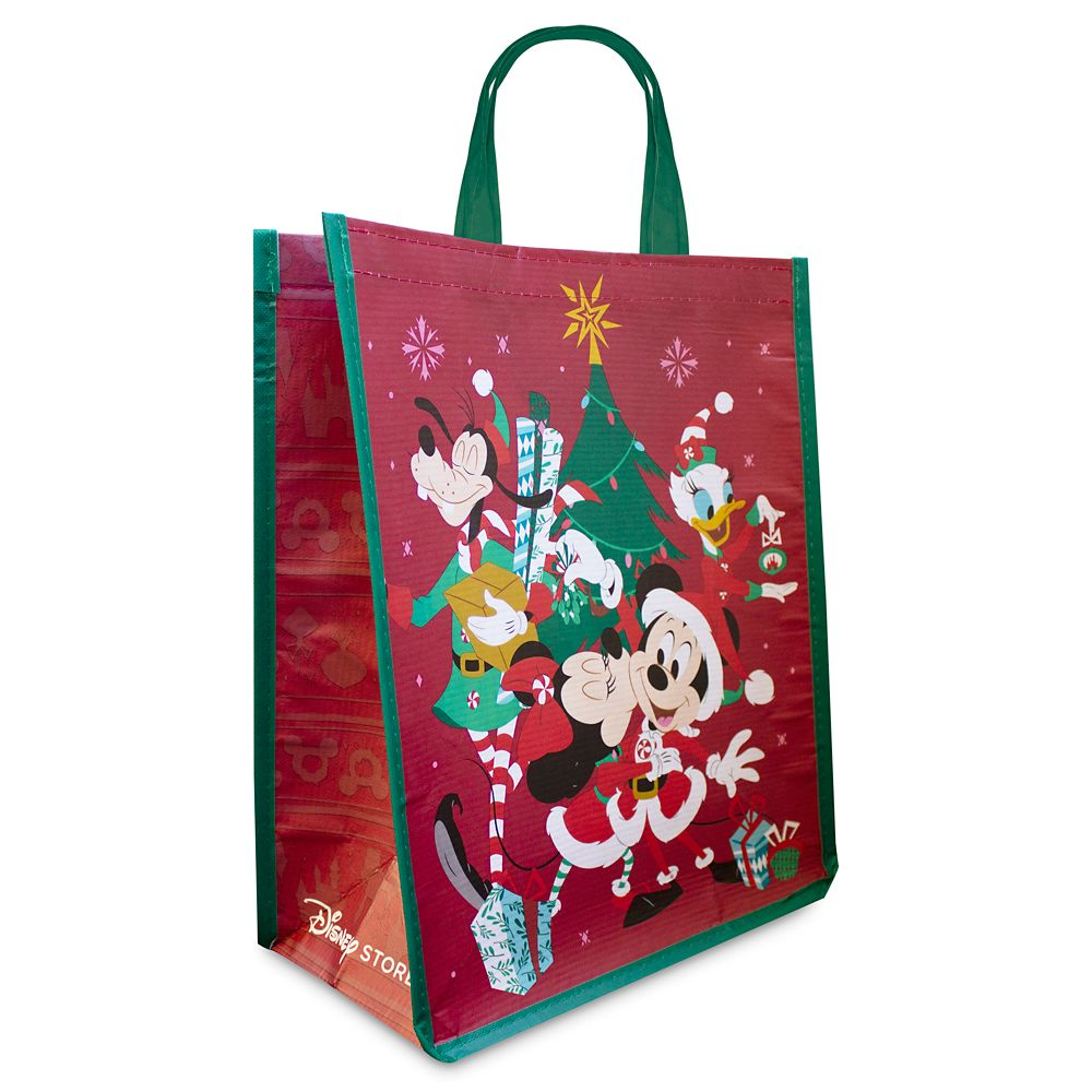 Mickey Mouse and Friends Holiday Reusable Tote – Standard