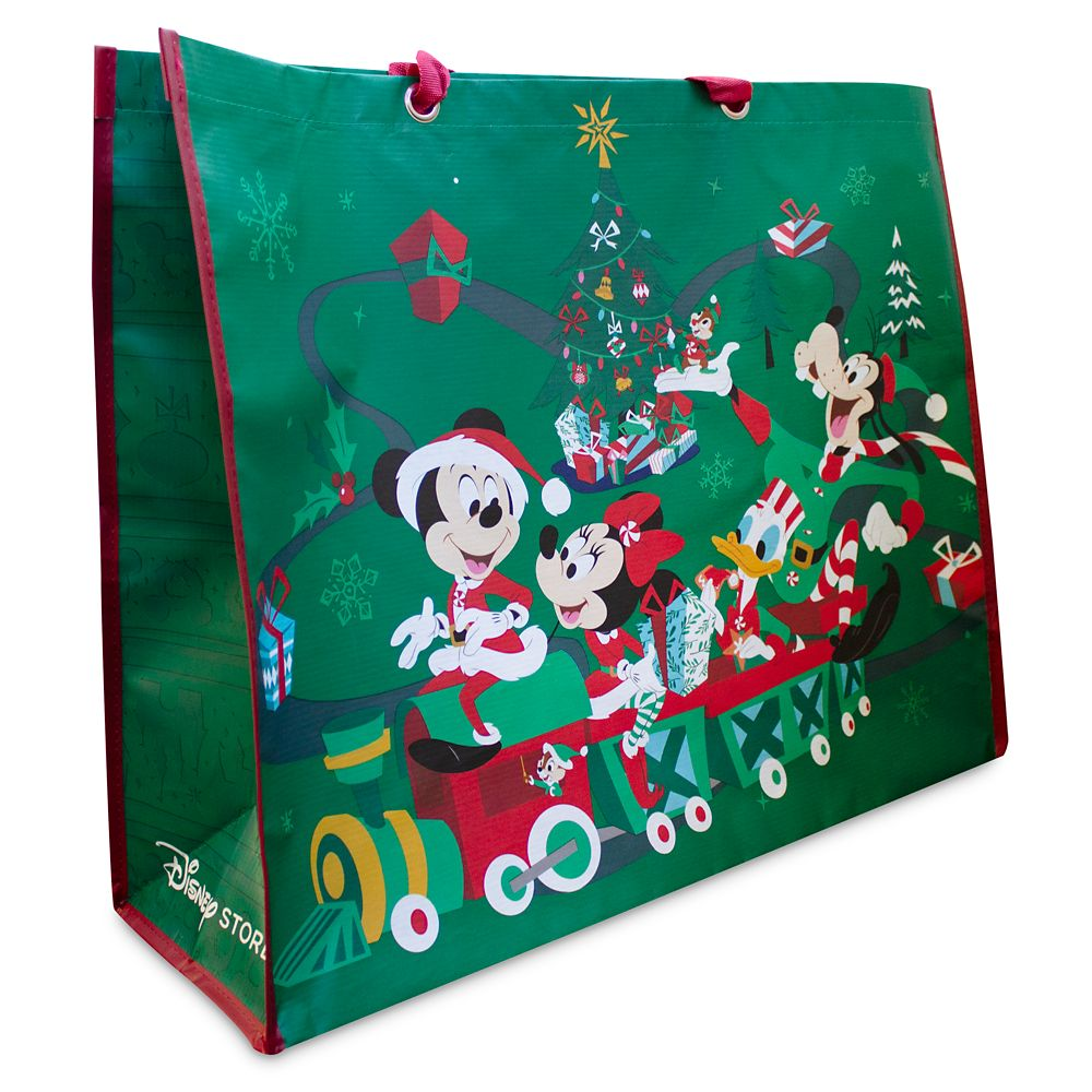 Mickey Mouse and Friends Holiday Reusable Tote – Extra Large
