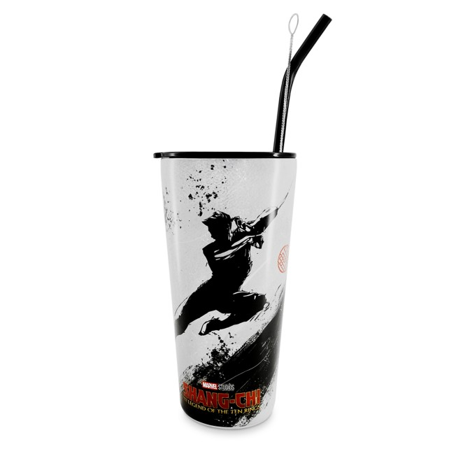Shang-Chi and the Legend of the Ten Rings Stainless Steel Tumbler with Straw