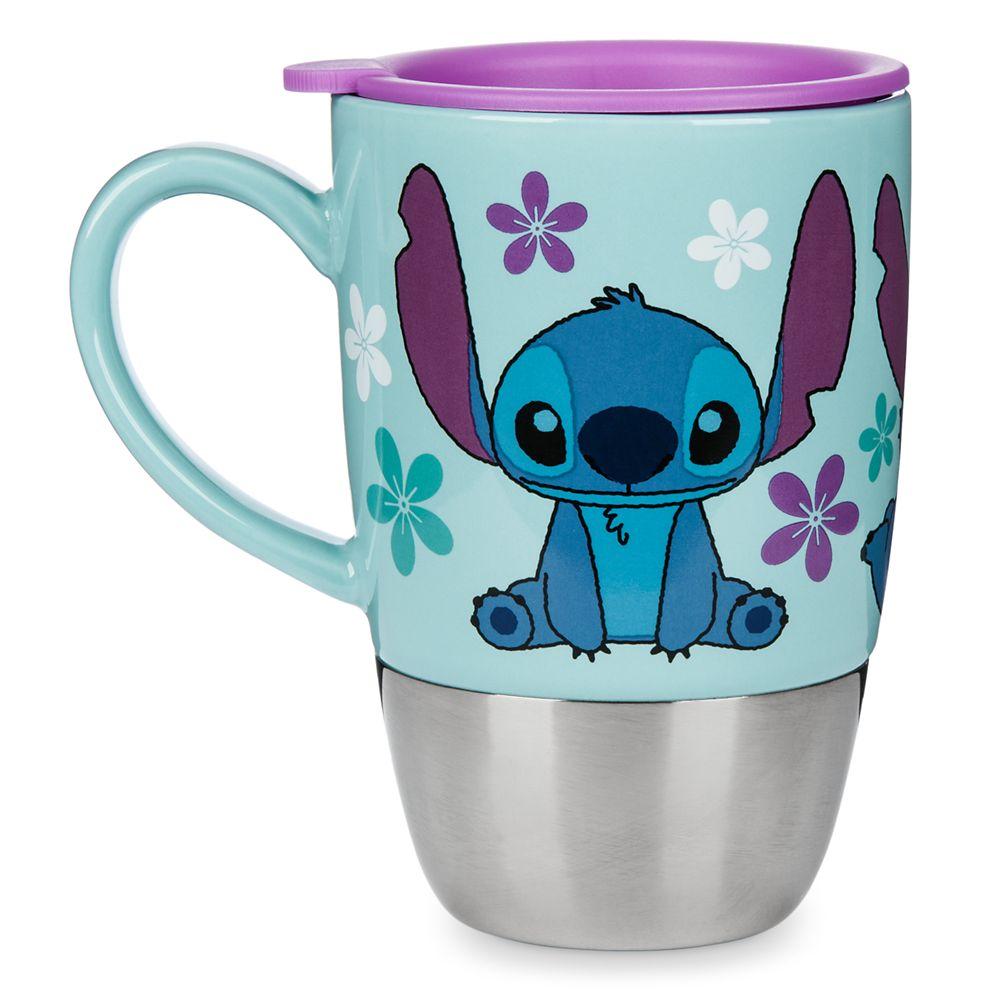 Stitch Ceramic Travel Mug