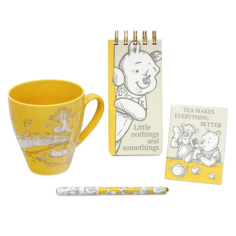 Winnie the Pooh Mug and Stationery Set