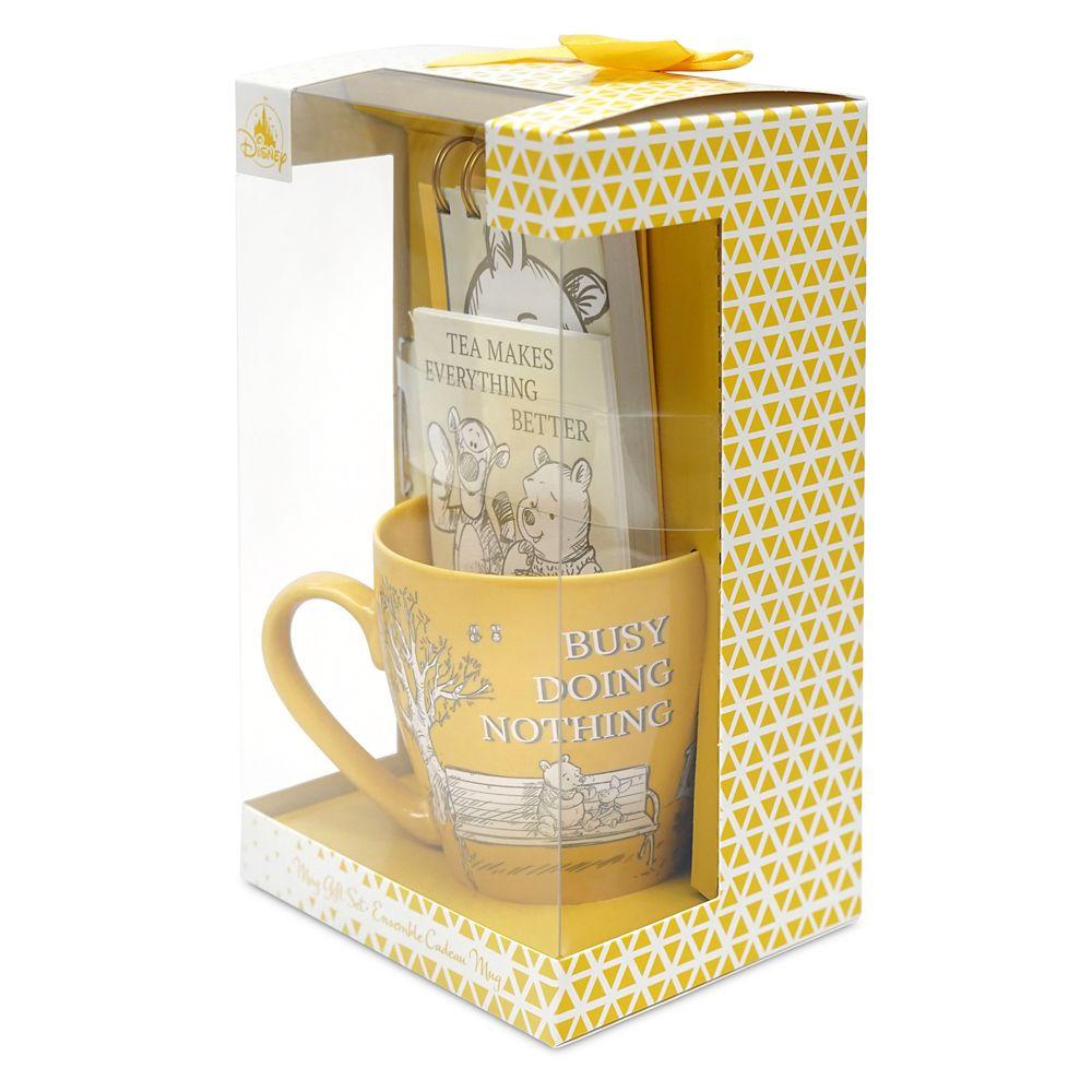 Winnie the Pooh Mug and Stationery Set