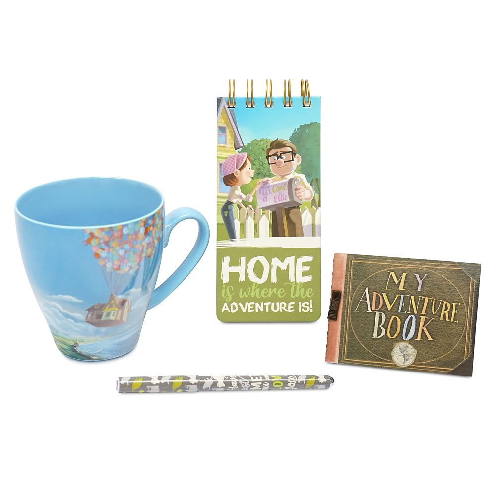 Up Mug and Stationery Set
