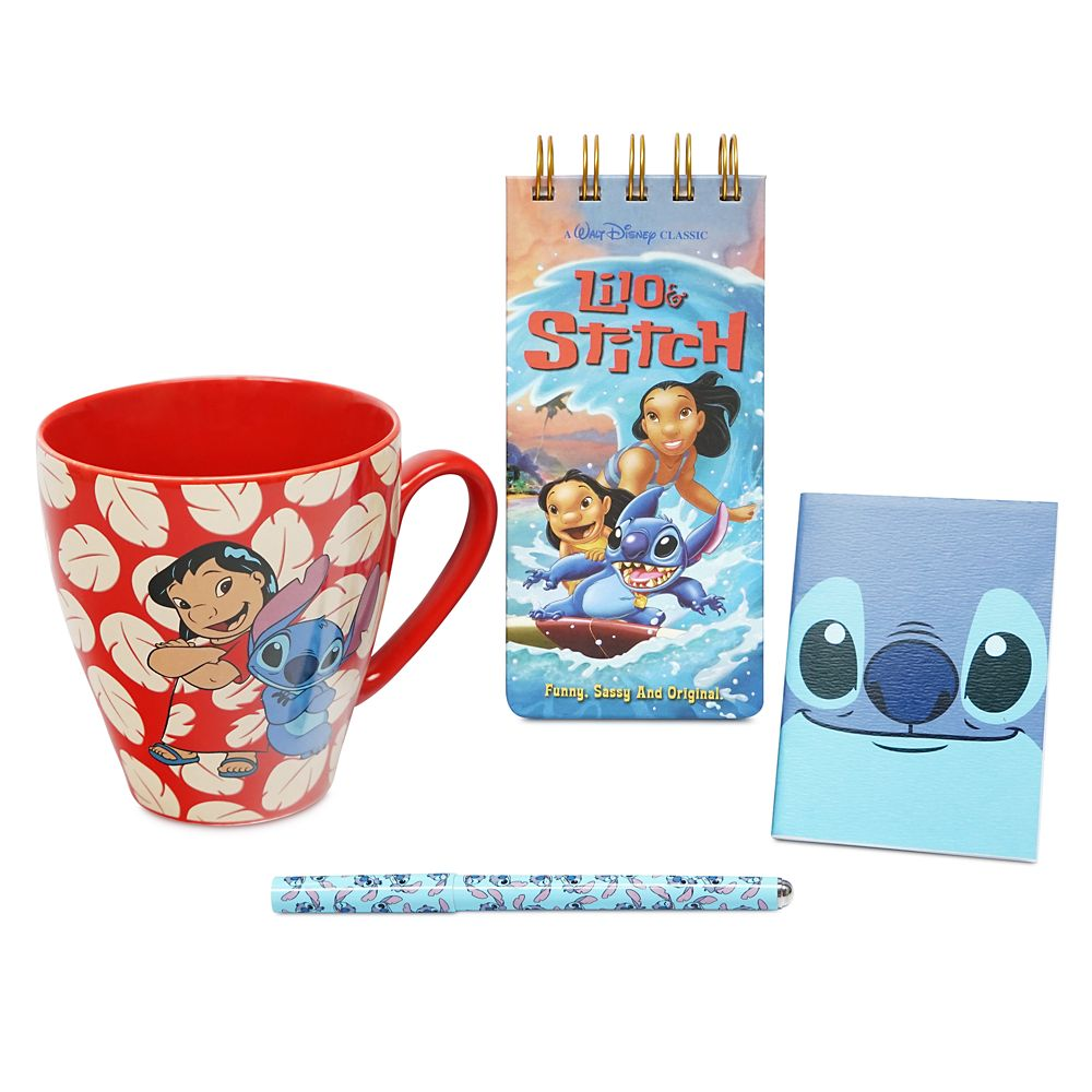 Lilo & Stitch Mug and Stationery Set