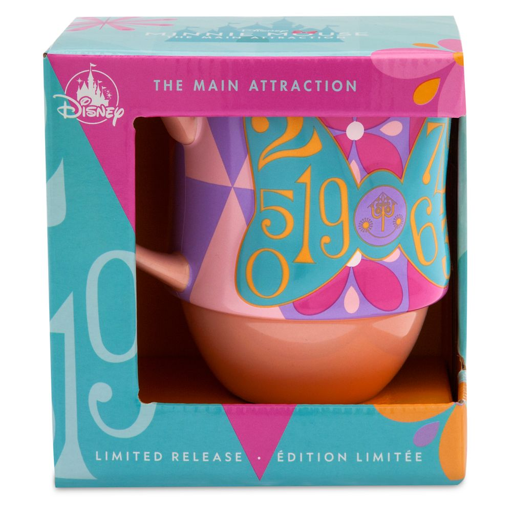 Minnie Mouse: The Main Attraction Mug – Disney it's a small world – Limited Release