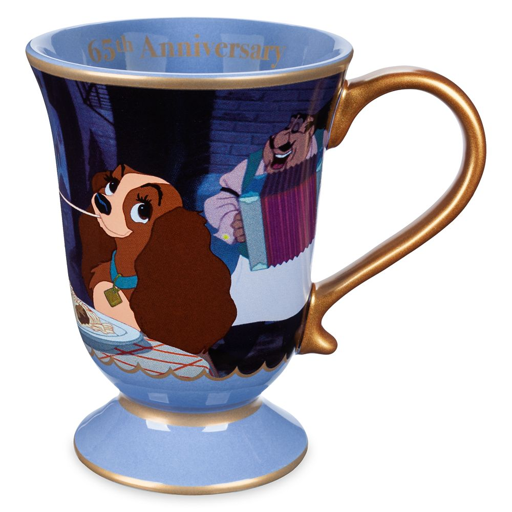 Lady and the Tramp Mug – 65th Anniversary