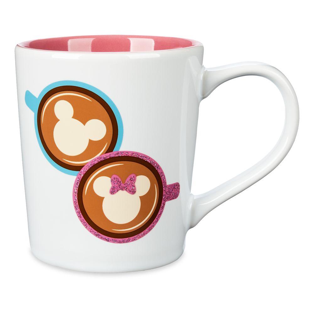 Mickey and Minnie Mouse Disney Fan Mug