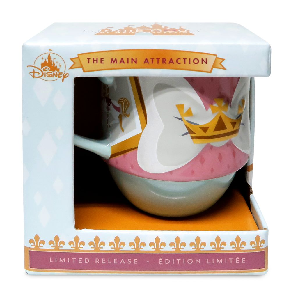 Minnie Mouse: The Main Attraction Mug – King Arthur Carrousel – Limited Release