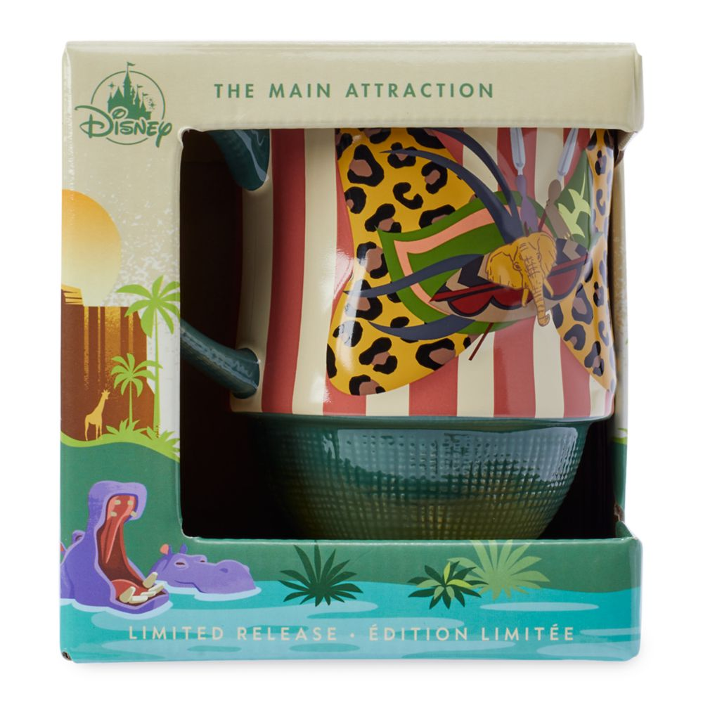 Minnie Mouse: The Main Attraction Mug – Jungle Cruise – Limited Release