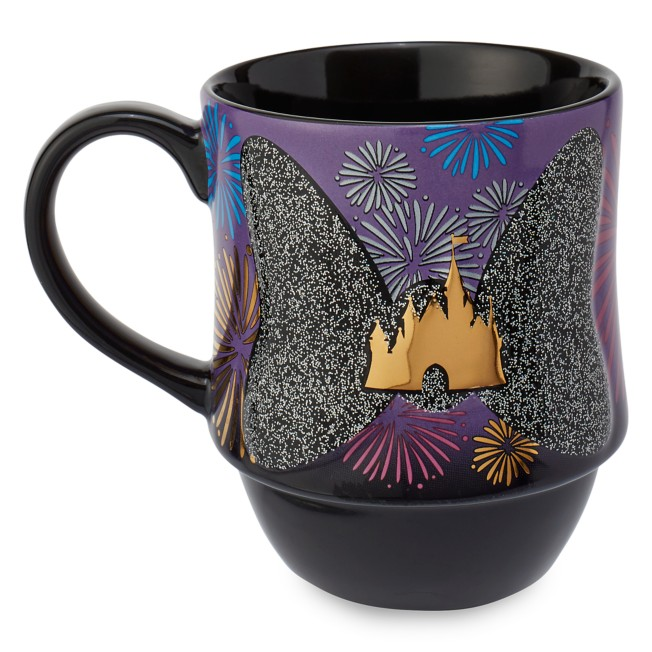 Minnie Mouse: The Main Attraction Mug – Nighttime Fireworks & Castle Finale – Limited Release