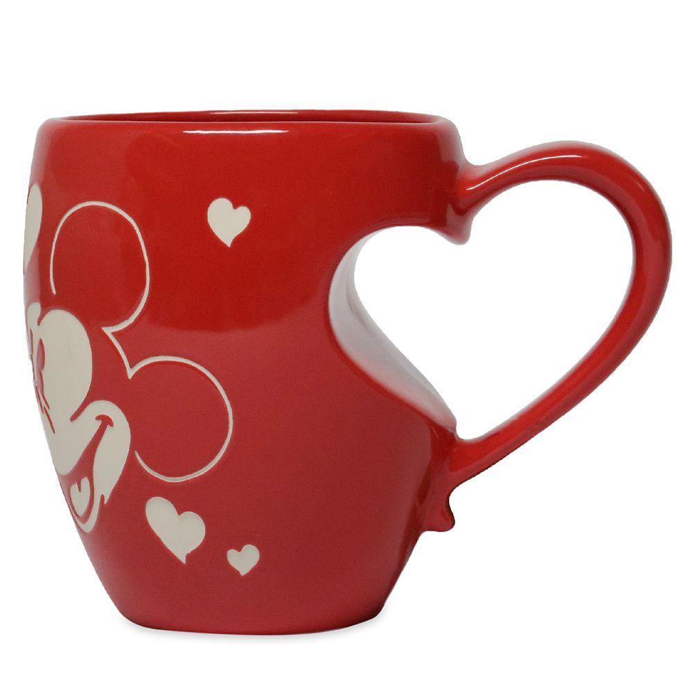 Mickey and Minnie Mouse Love Mug
