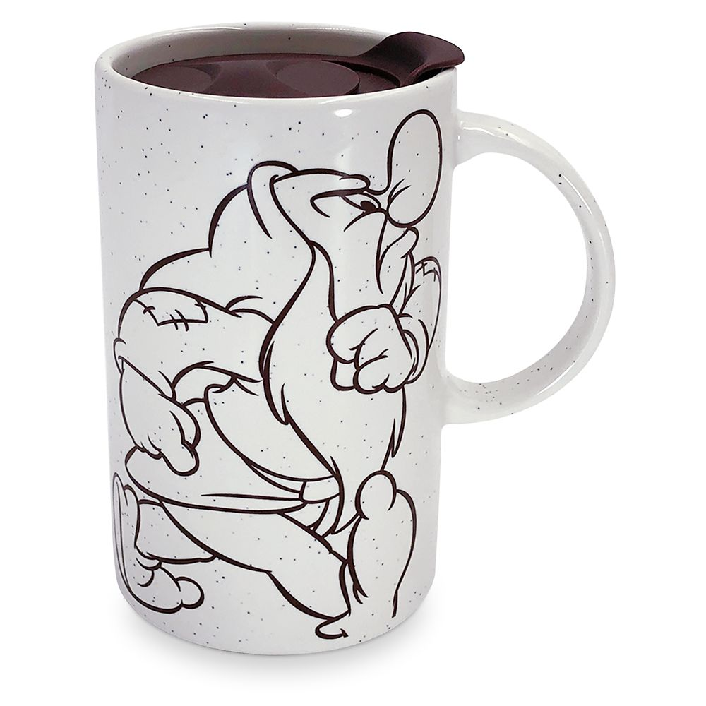 Grumpy Ceramic Sipper Mug Official shopDisney