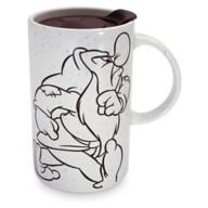 Grumpy Ceramic Travel Mug
