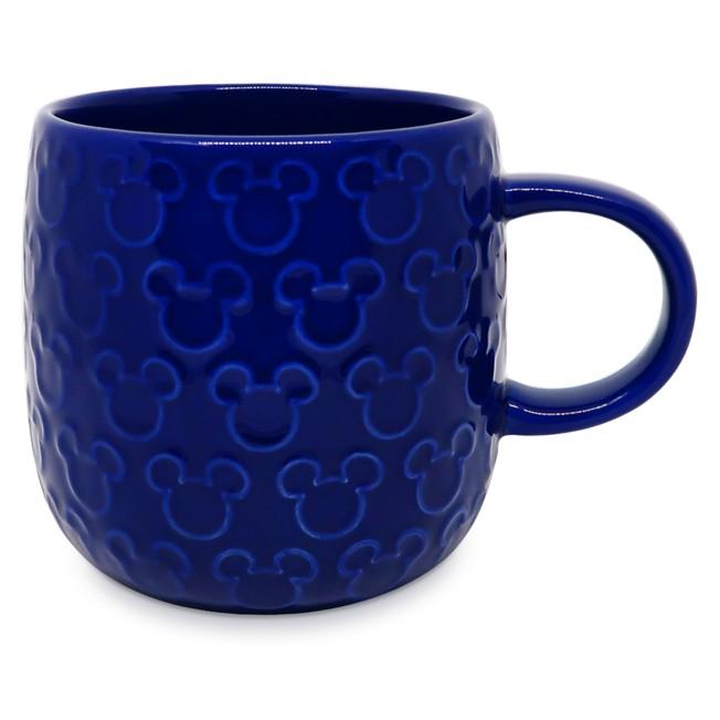 Mickey Mouse Raised Icon Mug – Cobalt