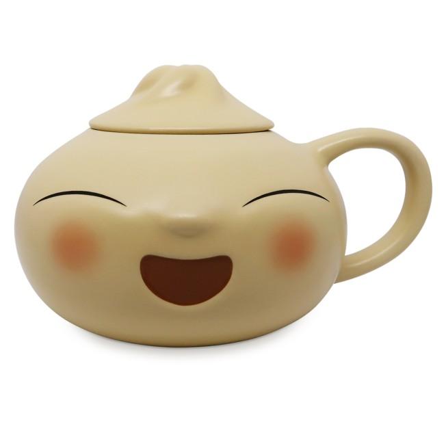 Bao Figural Mug with Lid