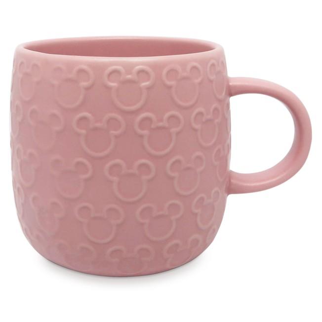 Mickey Mouse Raised Icon Mug – Pink