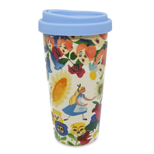 Alice in Wonderland by Mary Blair Ceramic Travel Mug