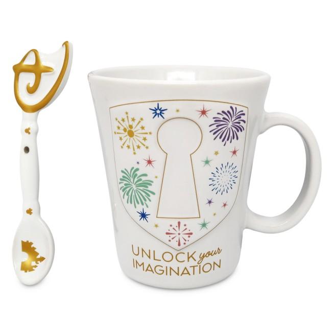 Imagination Key Mug and Spoon Set
