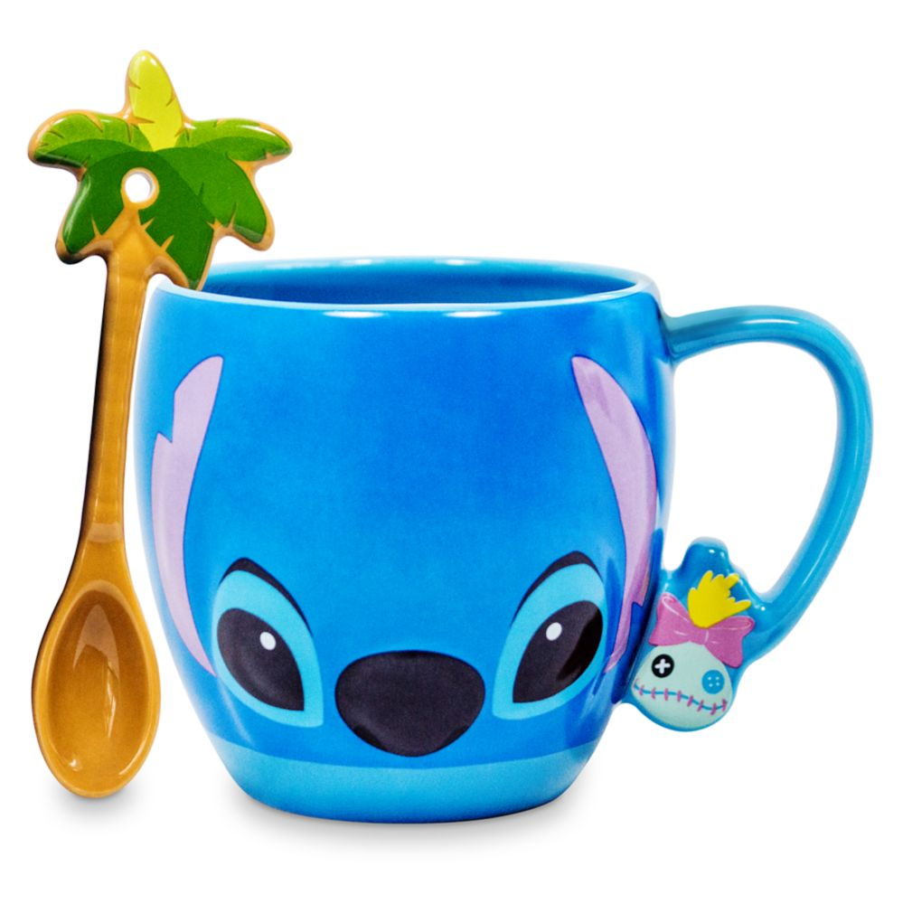 Stitch Mug and Spoon