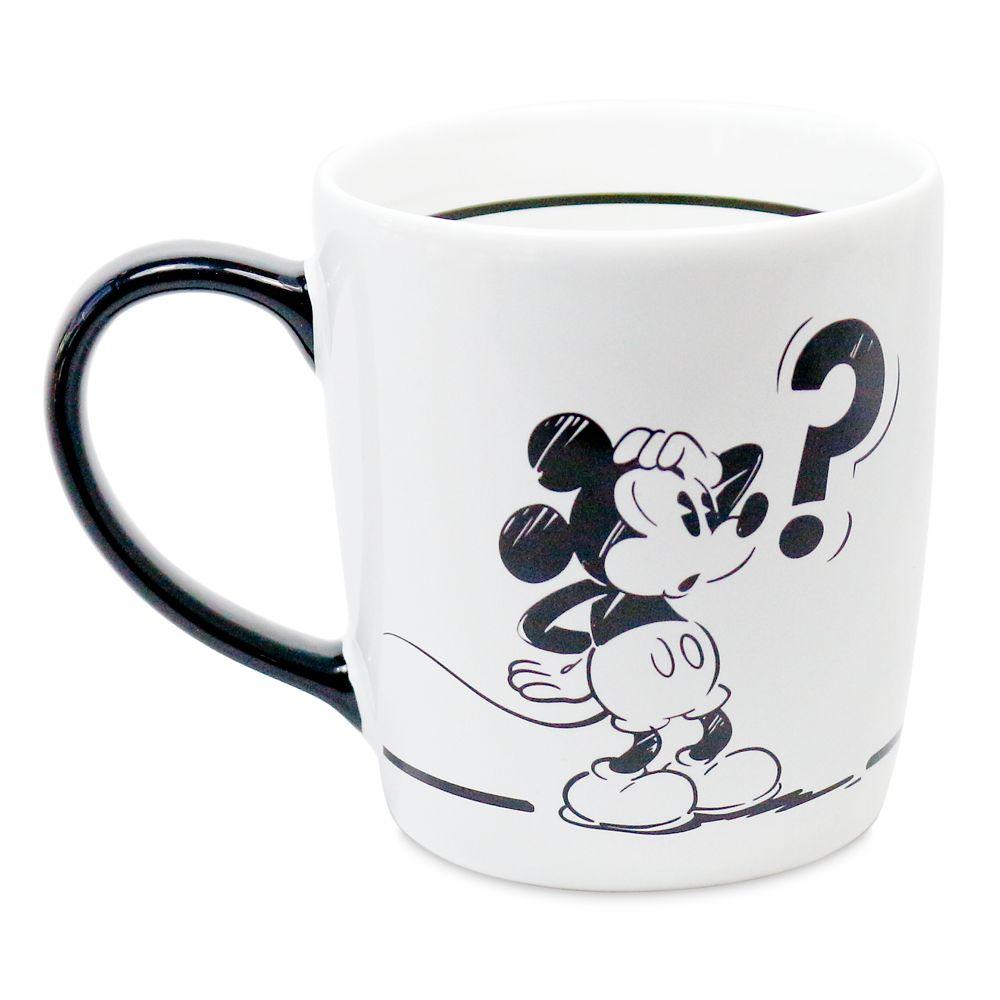 Mickey Mouse Black and White Mug