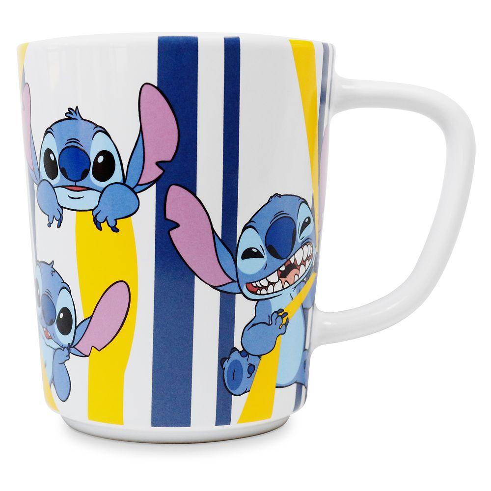 Stitch Striped Mug Official shopDisney