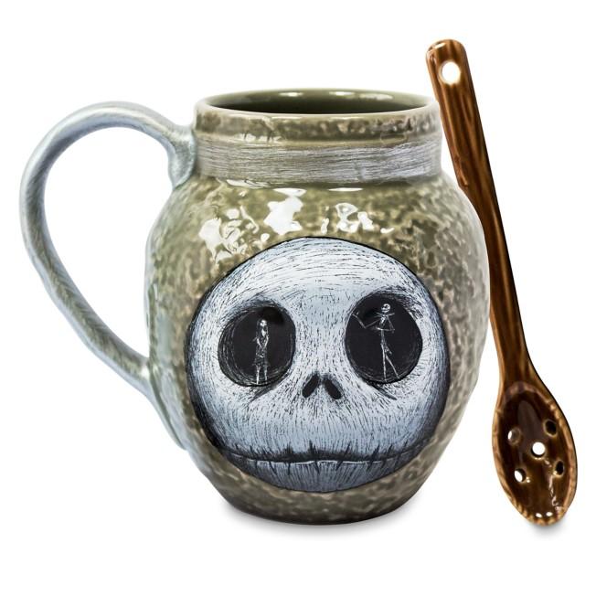 The Nightmare Before Christmas Mug with Spoon