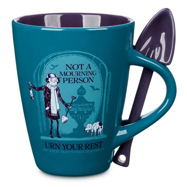 The Haunted Mansion Gravedigger Mug and Spoon Set
