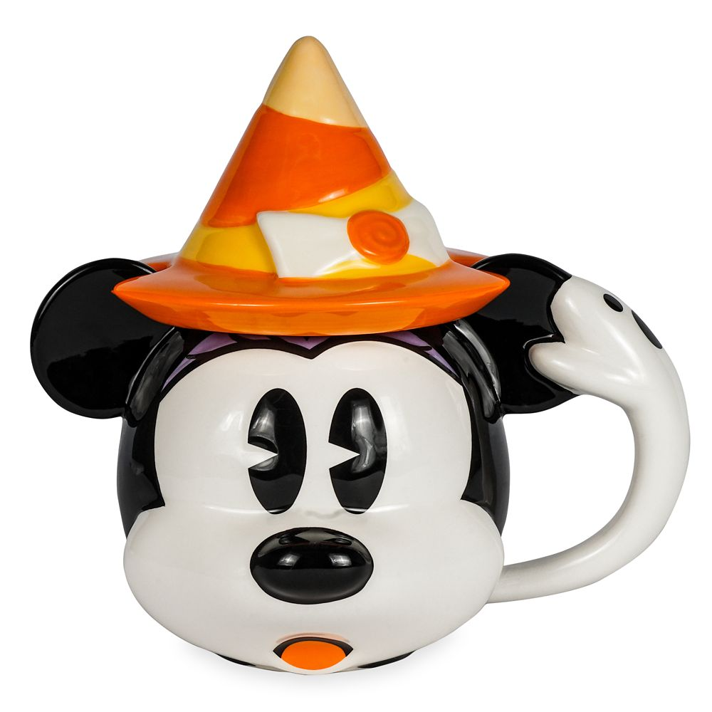 Minnie Mouse Halloween Mug with Lid