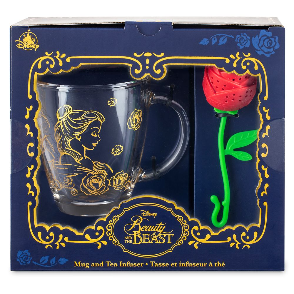 Beauty and the Beast Mug and Tea Infuser Set