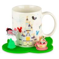 Disney Parks Mug and Saucer by Jerrod Maruyama