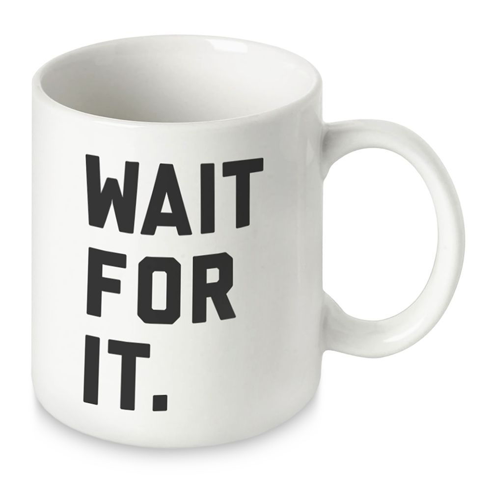 Hamilton ''Wait for It'' Mug