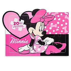 Disney Store Minnie Mouse Puzzle Placemat