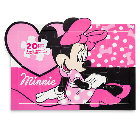 Minnie Mouse Puzzle Placemat