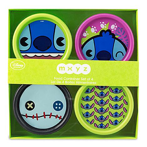 Stitch MXYZ Food Container Set