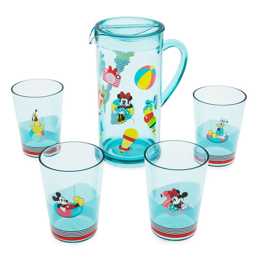Mickey Mouse and Friends Pitcher Set – Disney Eats