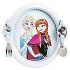 Frozen Plate and Flatware Set