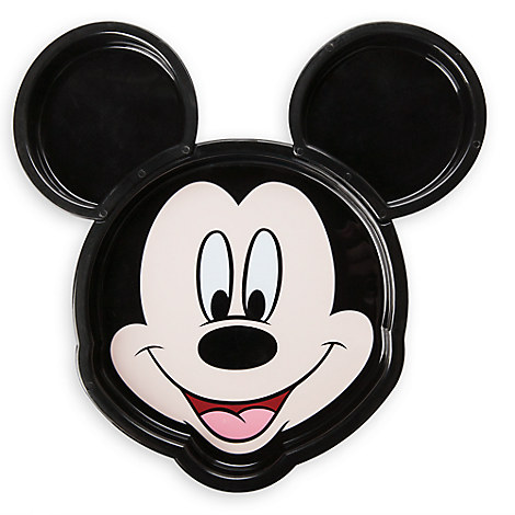 Mickey Mouse Face Clip Plate Meal Time Magic Collection