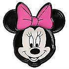 Minnie Mouse Face Clip Plate Meal Time Magic Collection