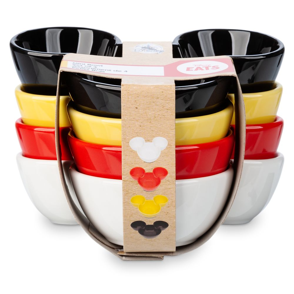 Mickey Mouse Appetizer Bowl Set – Disney Eats