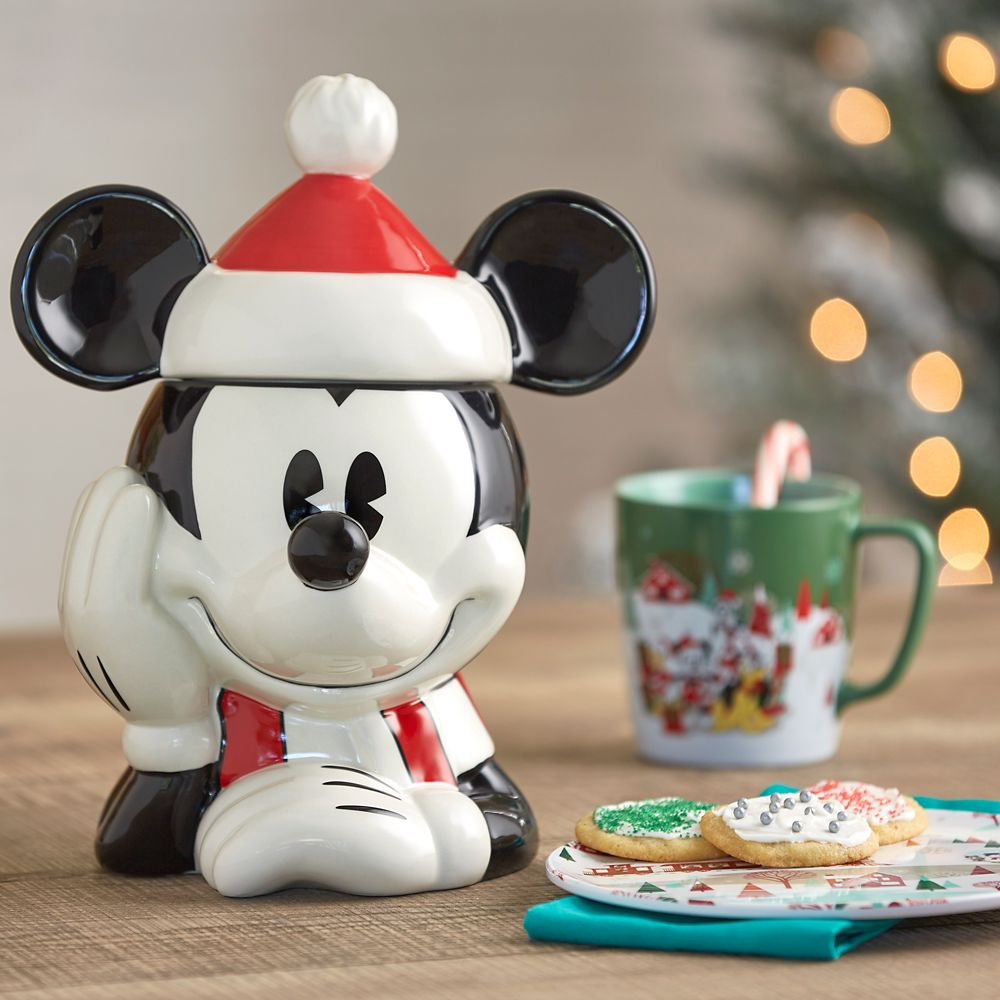 Mickey Mouse Holiday Cookie Jar