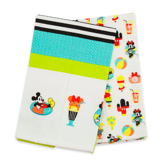 Mickey and Minnie Mouse Kitchen Towel Set – Disney Eats