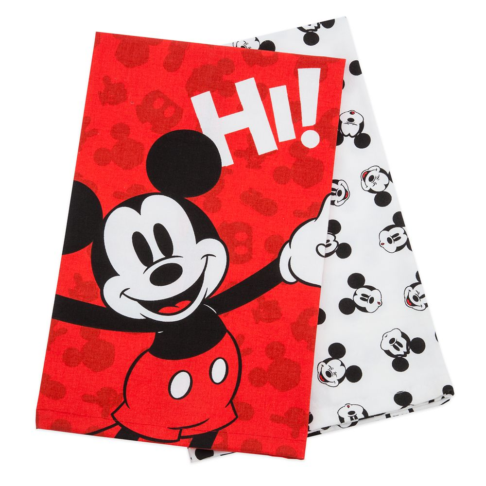 Mickey Mouse Kitchen Towel Set – Disney Eats